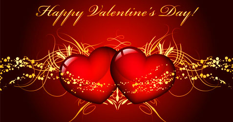 Valentine's Day festival greetings 2021